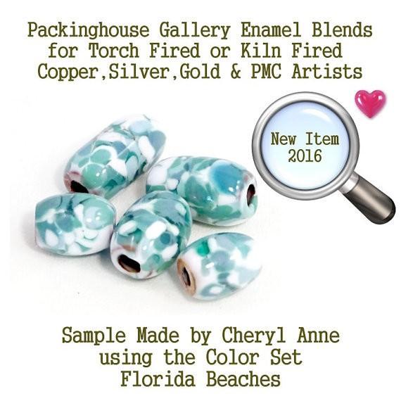 gold fired cheryl annes enamel mixes