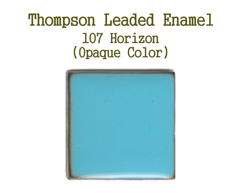 107  Horizon, Leaded Enamel for Sale, Thompson Enamel, 80 Mesh Enamels for Torch or Kiln Firing Process