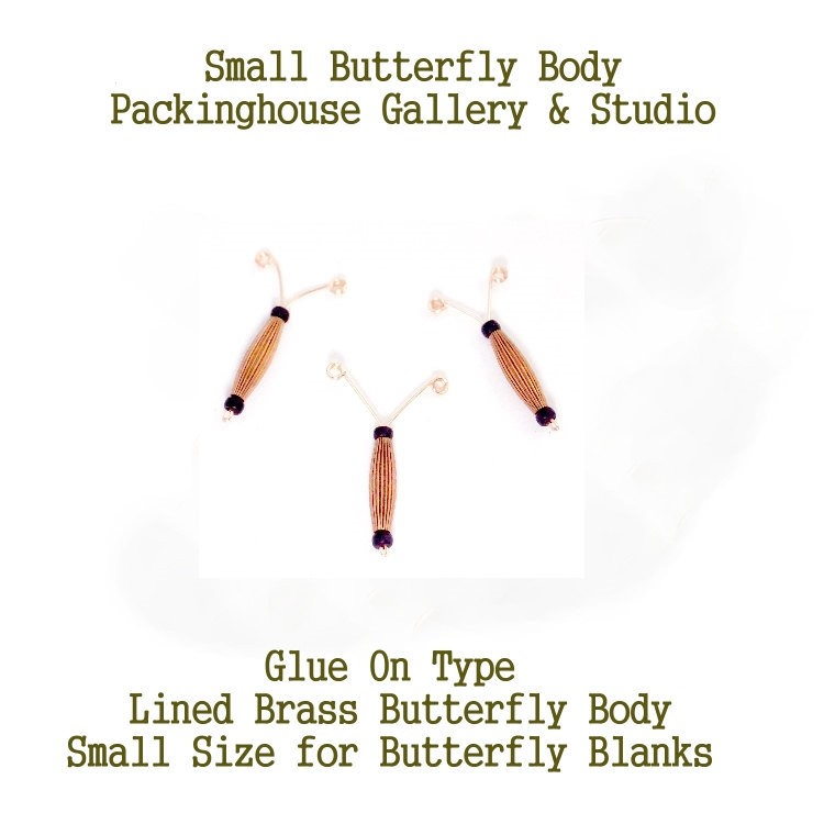 Butterfly Body (Small Size) glue in place, great for butterfly bodies that have been decorated very professional look nice 3 d effect.