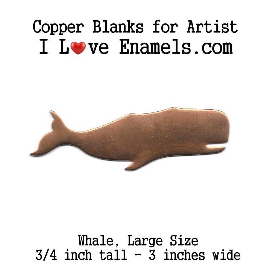 Sperm Whale Large Size, Copper Stamping Blank, Flat,Copper Blanks, Copper Shapes, metalworking, leather, engraving, etching, enameling