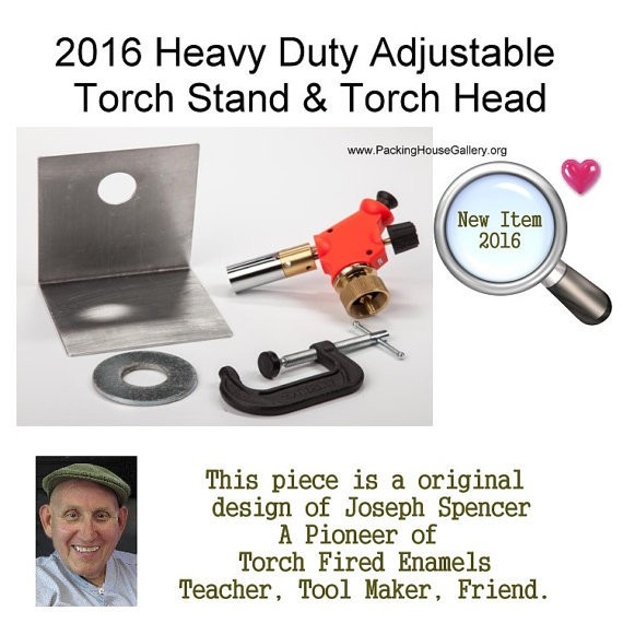 Heavy Duty Adjustable Torch Stand with Torch Head for Torch fire artists Left or Right Hand Unit with out torch New Design 2016 Joe Spencer