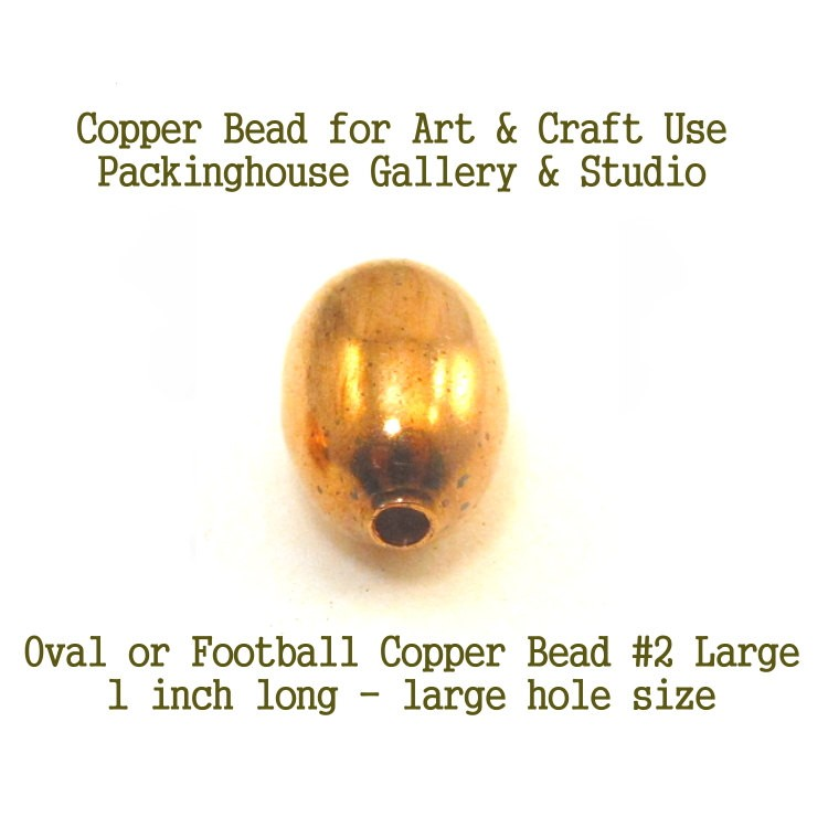 Oval or Football Shape Large Size for torch fired enamel or glass artist