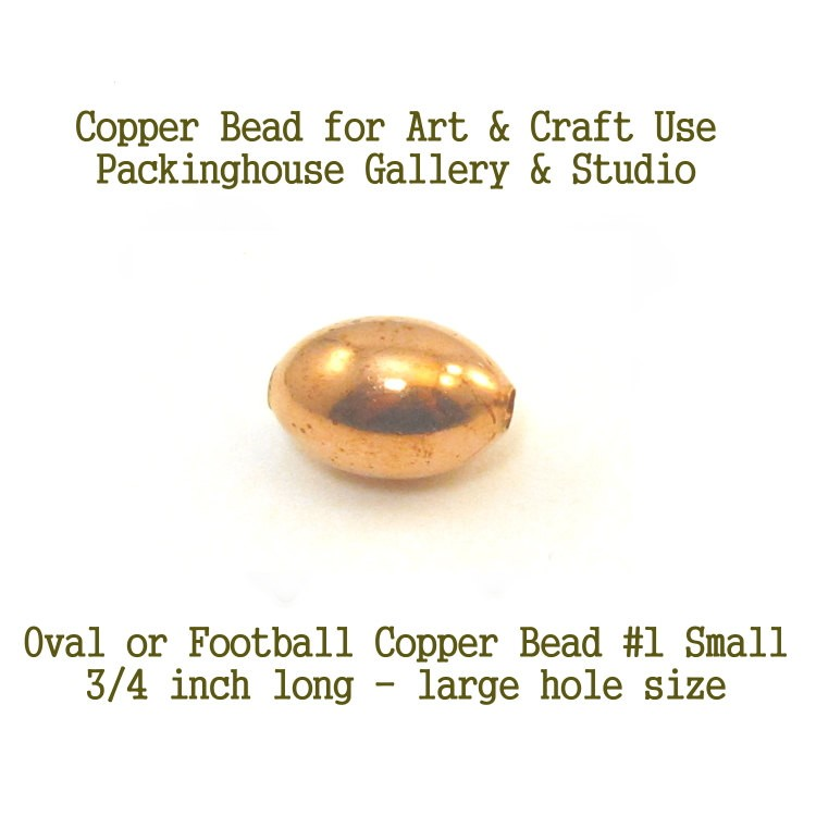 Oval or Football Shape Small Size for torch fired enamel or glass artist