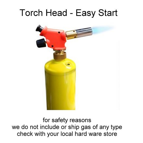 Torch Head - Easy Start for Torch Firing Artist, Metal working, Enamelist, Bead Artist and Jewelry Makers